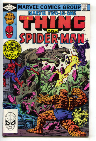 Marvel Two-In-One 90 1982 NM- Thing Amazing Spider-Man