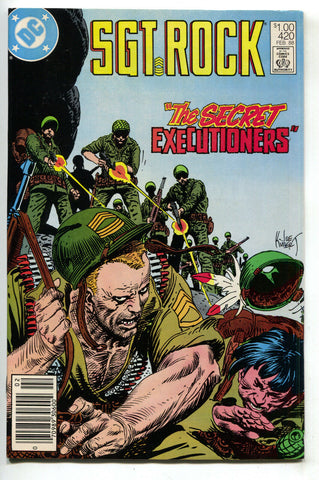 Sgt Rock 420 DC 1988 NM- Joe Kubert War Comics