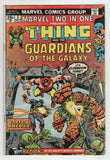 Marvel Two In One 5 1974 VG Thing Guardians Of The Galaxy Captain America