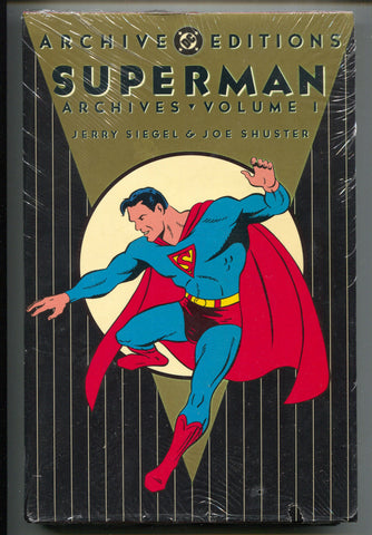 DC Archive Editions Superman 1 HC 1989 NM 1st Print Sealed 1 2 3 4 New