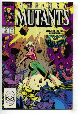 New Mutants 79 1st Series Marvel 1989 NM
