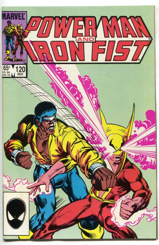 Power Man And Iron Fist 120 Marvel 1985 NM Luke Cage Daughters Of Dragon