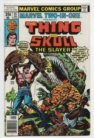 Marvel Two-In-One 35 1978 VF Thing Skull The Slayer Ernie Chan