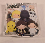 Star Wars Princess Leia Figural Bag Clip Key Ring Chain Exclusive New