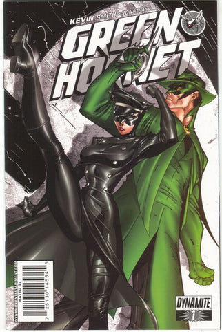 Green Hornet 1 Dynamite 2010 NM J Scott Campbell Kick-Ass Variant