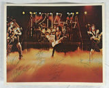 KISS Photo Signed Autographed Gene Simmons Peter Criss Paul Stanley Ace Frehley