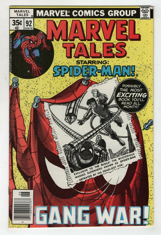Marvel Tales 92 1978 VF NM Amazing Spider-Man 111 Dr Octopus John Romita