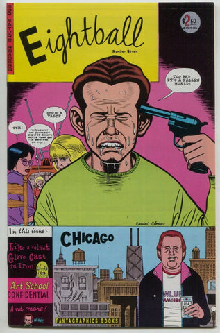 Eightball 7 Fantagraphics 1991 NM 1st Print Daniel Clowes