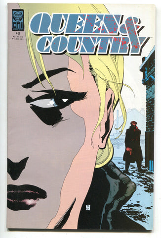 Queen & Country 3 Oni 2001 VF Greg Rucka