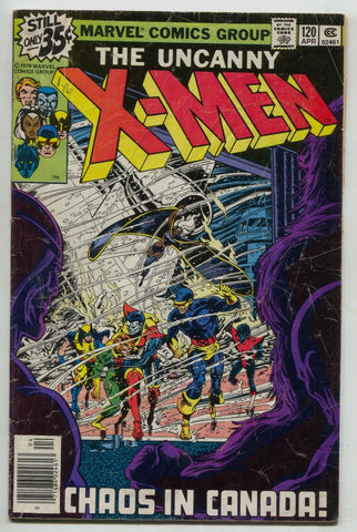 Uncanny X-Men 120 Marvel 1979 VG Wolverine 1st Alpha Flight Northstar