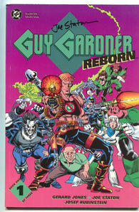 Guy Gardner Reborn 1 DC 1992 NM- Signed Joe Staton Green Lantern Lobo