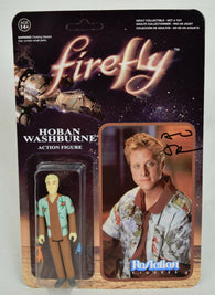 Firefly Hoban Washburne Reaction Action Figure Signed Alan Tudyk Serenity