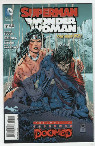 Superman Wonder Woman 7 A DC 2014 NM Doomed New 52 Doomsday