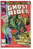 Ghost Rider 57 Marvel 1981 NM- Electric Chair Electrocution Death