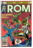 ROM Spaceknight 22 Marvel 1981 VF Bill Mantlo Sal Buscema Al Milgorm