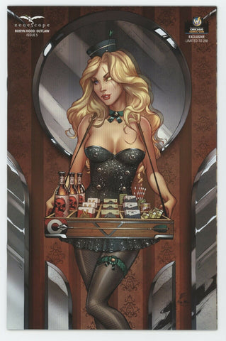 Robyn Hood Outlaw 5 Michael Dooney Chicago Wizard GFT GGA Grimm Fairy Tales