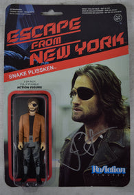 Escape From New York Snake Plissken Reaction Figures 1 Signed John Carpenter