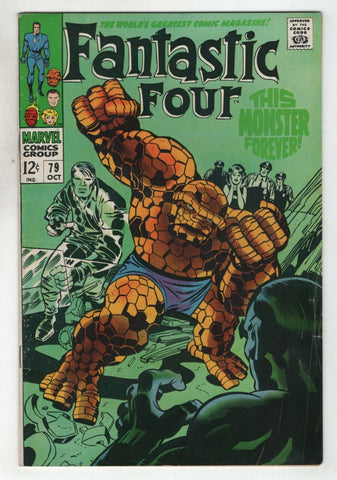 Fantastic Four 79 Marvel 1968 FN Stan Lee Jack Kirby