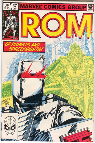 ROM Spaceknight 37 Marvel 1982 VF Al Milgrom