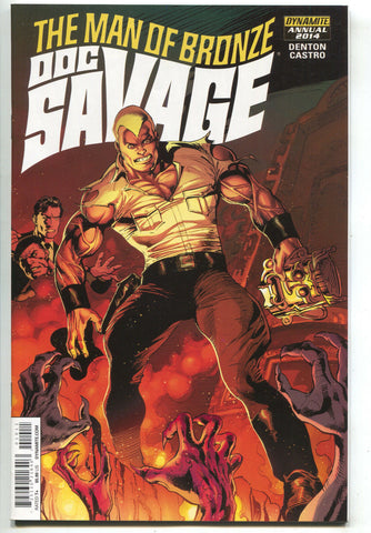 Doc Savage Annual 1 Dynamite 2014 NM- Roberto Castro Man Of Bronze