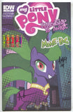 My Little Pony Friendship Is Magic 21 SDCC Variant Signed Sketch 5x Tony Fleecs