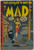 Mad 4 EC 1953 VG Superman Captain Marvel Harvey Kurtzman Wally Wood