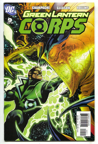 Green Lantern Corps 9 1st Series DC 2007 NM Guy Gardner