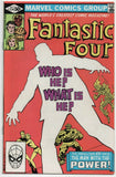Fantastic Four 234 1st Series Marvel 1981 FN VF John Byrne Ego Living Planet