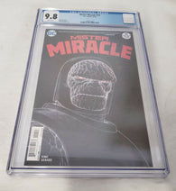 Mister Miracle 10 DC 2018 CGC 9.8 Darkeid Nick Derington Negative