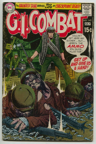 G.I. Combat 142 DC 1969 FN Haunted Tank Nazi WWII Joe Kubert