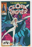 Cloak And Dagger 1 Marvel 1983 FN VF Spider-Man Rick Leonardi