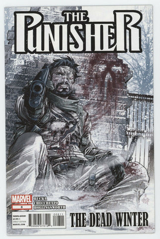 Punisher 8 9th Series Marvel 2012 NM Greg Rucka Marco Checchetto