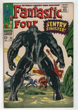 Fantastic Four 64 Marvel 1967 VG FN 1st Sentry 459 Jack Kirby Stan Lee