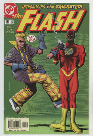 Flash 183 2nd Series DC 2002 NM+ 9.6 1st New Trickster Brian Bolland CW TV