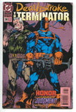 Deathstroke The Terminator 36 DC 1994 NM Marv Wolfman Swastika Cover