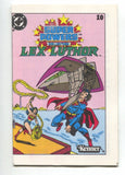 Super Powers Collection Mini Comic 10 DC 1983 NM+ 9.6 Kenner Lex Luthor Superman