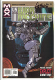 US War Machine 8 Marvel Max 2001 VF Signed Chuck Austen Iron Man