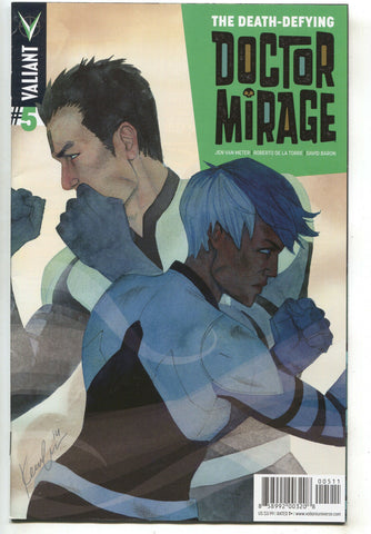 Death Defying Doctor Mirage 5 5 Valiant 2015 FN VF Kevin Wada