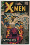 Uncanny X-Men 25 1st Series Marvel 1966 GD 1st El Tigre Roy Thomas