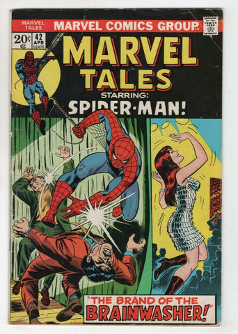 Marvel Tales 42 1973 FN Amazing Spider-Man 59 Mary Jane John Romita