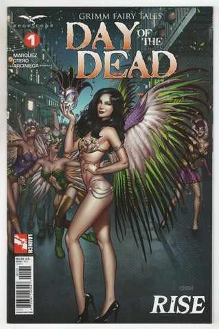 Grimm Fairy Tales Day Of The Dead 1 C Zenescope 2017 NM Sean Chen Variant GFT