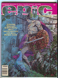 Epic Illustrated Magazine 7 Marvel 1981 NM- Barry Windsor Smith Jim Starlin