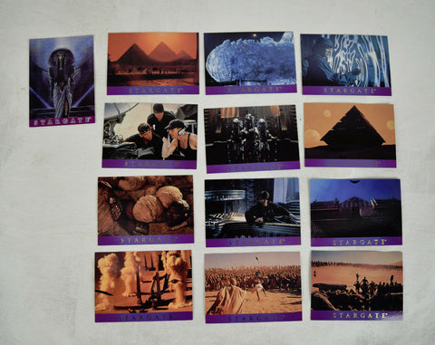 Stargate Trading Cards Adveture AS-1 2 3 4 5 6 7 8 9 10 11 12 TSM-1 Promo Set