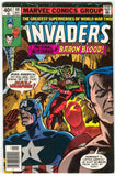 Invaders 40 1st Series Marvel 1978 VF Captain America Namor Nazi Vampire
