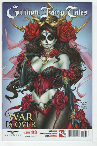 Grimm Fairy Tales 113 Zenescope 2015 NM Paolo Pantalena Variant Day Of The Dead