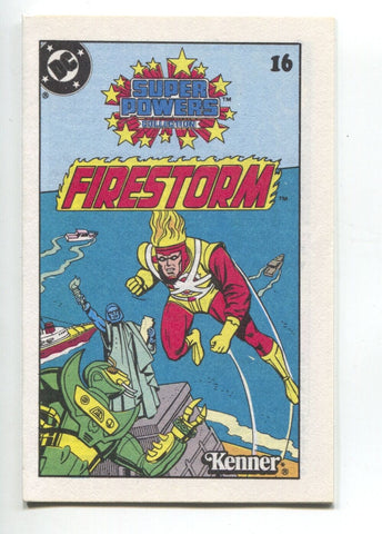 Super Powers Collection Mini Comic 16 DC 1983 NM+ 9.6 Kenner Firestorm