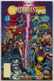Marvel Versus DC VS 1 1996 VF NM 2nd Print Spider-Man Wolverine Batman Superman