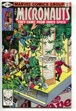 Micronauts 20 1st Series Marvel 1980 NM- Michael Golden Ant-Man