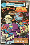 DC Comics Presents 28 1980 NM- Superman Supergirl Mongul Jim Starlin