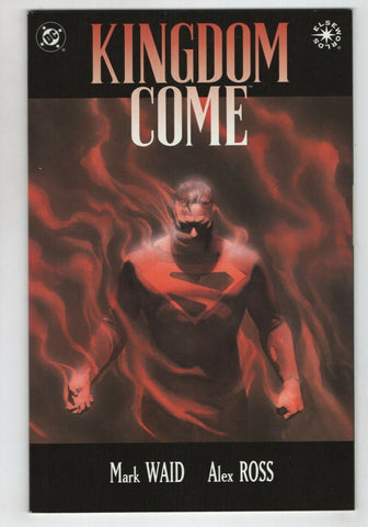 Kingdom Come 4 DC 1996 NM- Elseworlds Alex Ross Mark Waid